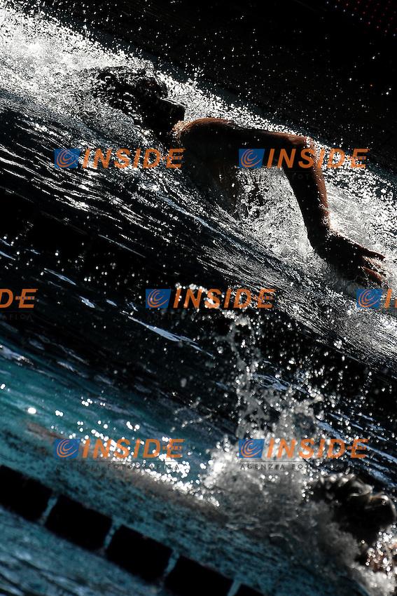 Alisia Tettamanzi Aquasport Rane Rosse.Riccione 10/03/2012 .Nuoto Campionati Italiani primaverili.Foto Insidefoto Andrea Staccioli