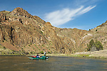 Fly-fishing on the John Day River, Oregon.