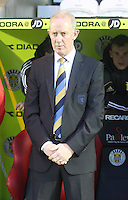 Scotland coach Billy Stark in the Scotland v Luxembourg UEFA Under 21 international qualifying match at St Mirren Park, Paisley on 6.9.12.