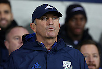 West Bromwich Albion manager Tony Pulis prior to kick off of the Premier League match between West Bromwich Albion and Swansea City at The Hawthorns, England, UK. Wednesday 14 December 2016