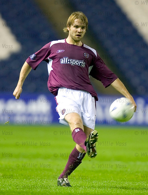 Robbie Neilson, Hearts.stock season 2004-2005.pic willie vass