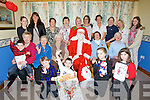 HAPPY CHRISTMAS: A great day for the senior citizens and staff and family at Ocean View Nursing home on Sunday as Santa Clause arrived to give the residents some presents, Myrna Scanlon, Justyna Klimas, Catherine O'Brien, Bunny O'Donnell, kay O'Shea, Kathleen Galvin, Joan O'Connor, Andrea and Patricia Quirke, Mary Foley, Ryan Daly, Joan O'Donoghue, Kay LaHaye, Santa Doris Collins and Mary Hussey. Seamus Ó Concubhair,Keelan Foley,Ciara Duggan and Gretta Sugrue.