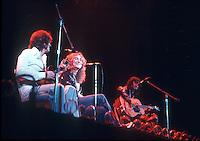 Led Zeppelin in 1975. Credit: Ian Dickson/MediaPunch