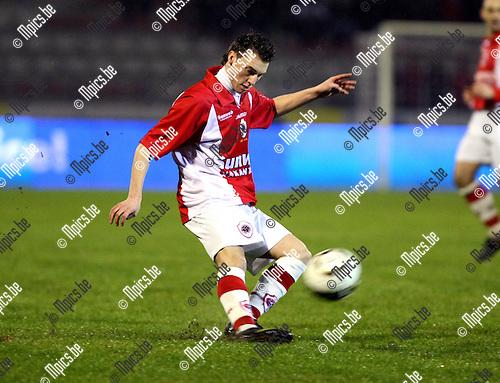 2010-01-23 / Voetbal / seizoen 2009-2010 / R. Antwerp FC - Bergen / Kevin Baert..Foto: mpics