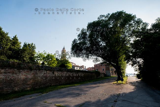 Venezia - Il Lido. San Nicolò nei dintorni della Caserma Pepe.