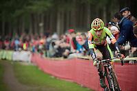 race leader Wout Van Aert (BEL/Crelan-Vastgoedservice)<br /> <br /> 2016 Belgian National CX Championships