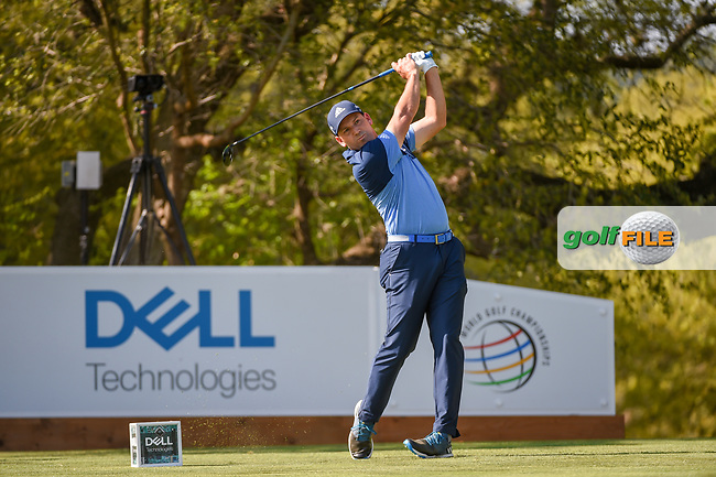 Sergio Garcia (ESP) watches his tee shot on 10 during day 1 of the WGC Dell Match Play, at the Austin Country Club, Austin, Texas, USA. 3/27/2019.<br /> Picture: Golffile   Ken Murray<br /> <br /> <br /> All photo usage must carry mandatory copyright credit (© Golffile   Ken Murray)