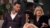 Andrew Brady, Rachel Johnson<br /> Celebrity Big Brother 2018 - Day 8<br /> *Editorial Use Only*<br /> CAP/KFS<br /> Image supplied by Capital Pictures