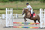 Class 3. Unaffiliated showjumping. Brook Farm Training Centre. Essex. UK. 06/07/2019. ~ MANDATORY Credit Garry Bowden/Sportinpictures - NO UNAUTHORISED USE - 07837 394578