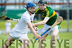 Kildare's Shane Ryan gets away from Kerry's Evan Murphy  at The Electric Ireland All-Ireland B Championship quarter final Kerry V Kildare at Austin Stack Park on Saturday
