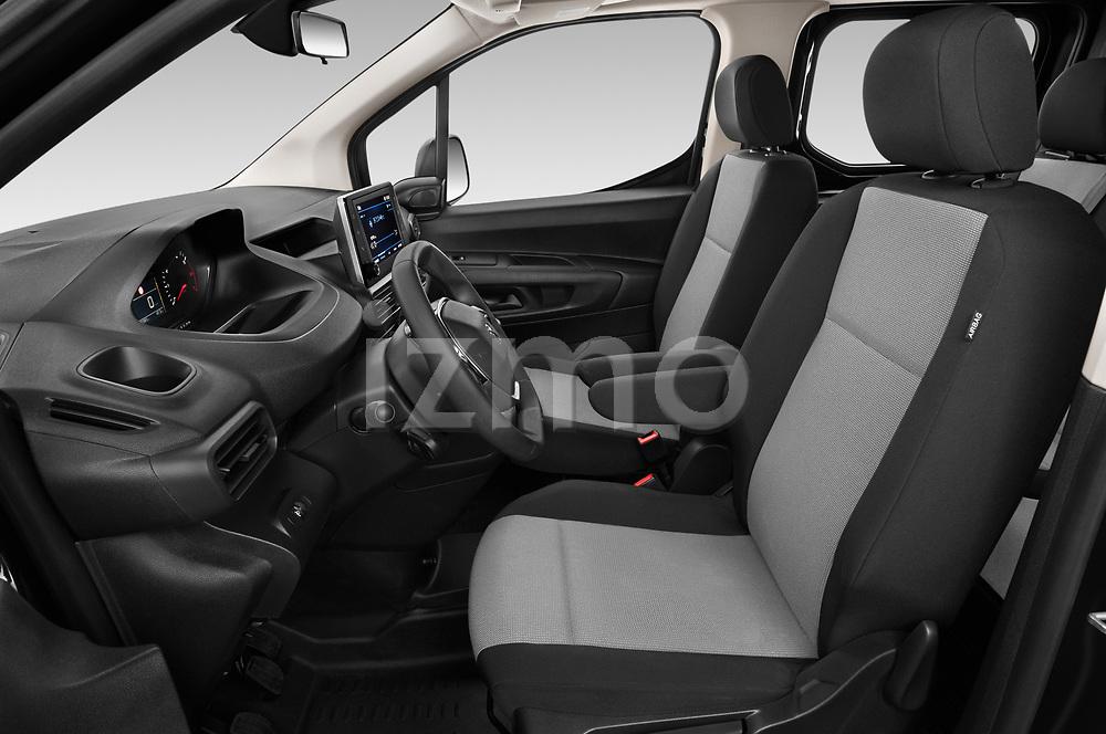Front seat view of a 2020 Peugeot Partner Premium Long 4 Door Car van front seat car photos
