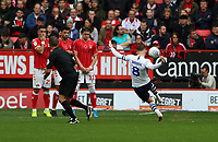 Alan Browne of Preston North End freekick goes wide during Charlton Athletic vs Preston North End, Sky Bet EFL Championship Football at The Valley on 3rd November 2019