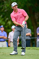 Paul Casey (GBR) watches his tee shot on 5 during Friday's round 2 of the PGA Championship at the Quail Hollow Club in Charlotte, North Carolina. 8/11/2017.<br /> Picture: Golffile | Ken Murray<br /> <br /> <br /> All photo usage must carry mandatory copyright credit (&copy; Golffile | Ken Murray)