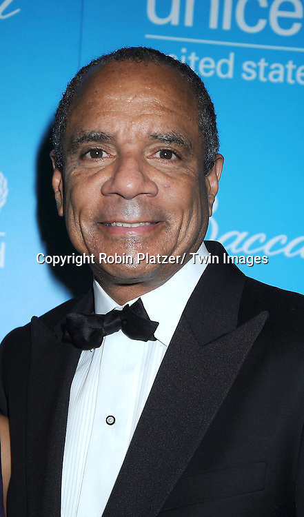 Kenneth Chenault attending The 7th Annual Unicef Snowflake Ball on November 30, 2010 at Cipriani 42nd .Street.