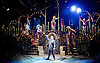 Side Show <br /> at Southwark Playhouse, London, Great Britain <br /> 25th October 2016 <br /> <br /> Louise Dearman and Laura Pitt-Pulford as conjoined twins Daisy and Violet Hilton<br /> <br /> Haydn Oakley as Terry Connor<br /> <br /> Jay Marsh as Jake<br /> <br /> Dominic Hodson as Buddy Foster<br /> <br /> Christopher Howell as The Boss/Sir - in front <br /> <br /> Lala Barlow as Bearded Lady<br /> <br /> Oliver Marshall as Dog<br /> <br /> David Muscat as Human Pin Cushion<br /> <br /> Nuwan Hugh Perera as Sheik Fakir<br /> <br /> Agnes Pure as Snake Lady<br /> <br /> Nuno Queimado as Reptile Man<br /> <br /> Kirstie Skivington as Half Man Half Woman<br /> <br /> Genevieve Taylor as Dolly Dimples. <br /> <br /> Side Show is presented by Paul Taylor-Mills<br /> Music composed by Henry Krieger<br /> Book and Lyrics by Bill Russell<br /> Additional Book material is by Bill Condon<br /> Directed by Hannah Chissick<br /> Choreography by Matthew Cole <br /> Design by takis <br /> Musical direction by Jo Cichonska<br /> Sound design by Dan Simpson<br /> <br /> <br /> Photograph by Elliott Franks <br /> Image licensed to Elliott Franks Photography Services