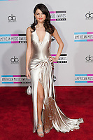 11/20/11 Los Angeles, CA: Selena Gomez during the arrivals at the 2011 American Music Awards held at the Nokia Theatre.
