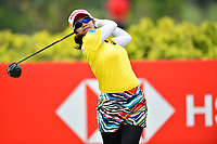 SINGAPORE - FEBRUARY 01: Pornanong Phatlum of Thailand on the 3rd tee during the second round of the HSBC Women's World Championship 2019 at Sentosa Golf Club - Tanjong Course, Singapore on March 01, 2019.<br /> .<br /> .<br /> .<br /> (Photo by: Naratip Golf Srisupab/SEALs Sports Images)<br /> .<br /> Any image use must include a mandatory credit line adjacent to the content which should read: Naratip Golf Srisupab/SEALs Sports Images
