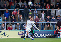 Goalkeeper Matt Ingram of Wycombe Wanderers in action during the Sky Bet League 2 match between Wycombe Wanderers and Hartlepool United at Adams Park, High Wycombe, England on 5 September 2015. Photo by Andy Rowland.