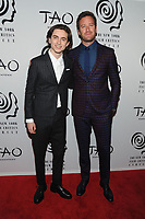 NEW YORK, NY - JANUARY 3: Timothee Chalamet and Armie Hammer at the New York Film Critics Circle Awards at TAO Downtown in New York City on January 3, 2018. <br /> CAP/MPI/JP<br /> &copy;JP/MPI/Capital Pictures