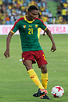 Owona of Camerun during the friendly match between Camerun and Colombia in Madrid, Spain 13 jun 2017.(ALTERPHOTOS/Rodrigo Jimenez)