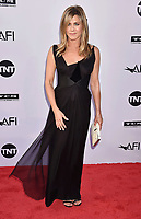 HOLLYWOOD, CA - JUNE 07: Jennifer Aniston arrives at the American Film Institute's 46th Life Achievement Award Gala Tribute To George Clooney at the Dolby Theatre on June 7, 2018 in Hollywood, California.<br /> CAP/ROT/TM<br /> &copy;TM/ROT/Capital Pictures