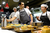MELBOURNE, 30 June 2017 – Simon Consentino at work in the kitchen during a dinner celebrating Philippe Mouchel's 25 years in Australia with six chefs who worked with him in the past at Philippe Restaurant in Melbourne, Australia.
