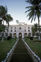 The Hotel Washington in the city of Colon. Panama