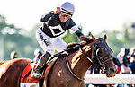 JUNE 08: Sir Winston with Joel Rosario  wins  The Belmont Stakes at Belmont Park in Elmont, New York on June 08, 2019. Evers/Eclipse Sportswire/CSM