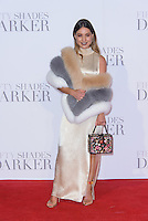 www.acepixs.com<br /> <br /> February 9 2017, London<br /> <br /> Louise Thompson arriving at the UK Premiere of 'Fifty Shades Darker' at the Odeon Leicester Square on February 9, 2017 in London, United Kingdom. <br /> <br /> By Line: Famous/ACE Pictures<br /> <br /> <br /> ACE Pictures Inc<br /> Tel: 6467670430<br /> Email: info@acepixs.com<br /> www.acepixs.com