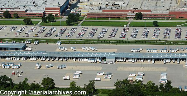 aerial photograph FedEx, Louisville, Kentucky