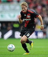 FUSSBALL   1. BUNDESLIGA   SAISON 2011/2012    2. SPIELTAG Bayer 04 Leverkusen - SV Werder Bremen              14.08.2011 Andre SCHUERRLE  (Bayer 04 Leverkusen) Einzelaktion am Ball