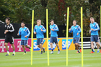 06.10.2015: Training der Nationalmannschaft in Frankfurt