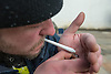 Smoking a joint, using tobacco and Happy Joker, a Legal High