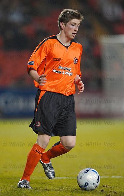 Mark Wilson, Dundee Utd.stock season 2005-2006.pic willie vass