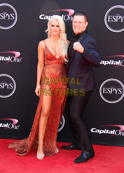 12 July 2017 - Los Angeles, California - Maryse Ouellet and Mike Mizanin. 2017 ESPYS Awards Arrivals held at the Microsoft Theatre in Los Angeles. <br /> CAP/ADM<br /> &copy;ADM/Capital Pictures