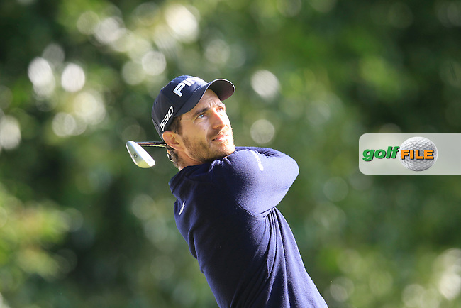 Alejandro CANIZARES (ESP) during round 1 of the 2015 BMW PGA Championship over the West Course at Wentworth, Virgina Water, London. 21/05/2015<br /> Picture Fran Caffrey, www.golffile.ie: