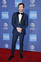 PALM SPRINGS, CA - JANUARY 03: Joseph Mazzello attends the 30th Annual Palm Springs International Film Festival Film Awards Gala at Palm Springs Convention Center on January 3, 2019 in Palm Springs, California.<br /> CAP/ROT/TM<br /> &copy;TM/ROT/Capital Pictures