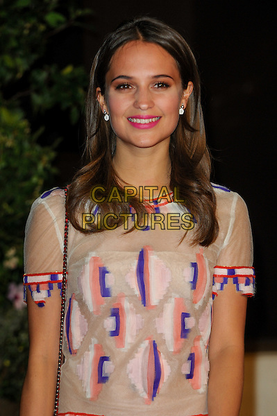 LONDON, ENGLAND - FEBRUARY 16: Alicia Vikander attends EE British Academy Film Awards afterparty at the Grosvenor Hotel on February 16, 2014 in London, England. <br /> CAP/CJ<br /> &copy;Chris Joseph/Capital Pictures