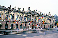 East Berlin: The Museum of German History, Unter Den Linden. 1695-1706, an armory; rebuilt by Schinkel and from 1885-1945, a Museum of Prussian-German Military History.