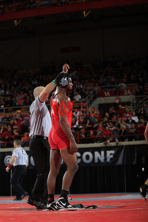The Ohio State University Wrestling team host the 2015 B1G Tournament. St. John's Arena, Columbus, OH. March 7-8, 2015