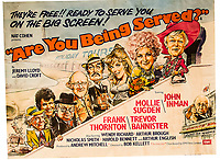 BNPS.co.uk (01202 558833)<br /> Pic:  SAS/BNPS<br /> <br /> Movie poster.<br /> <br /> Not Free! - 'King of Camp' John Inman's archive to be auctioned.<br /> <br /> Possessions from the estate of the late TV star John Inman have emerged for sale.<br /> <br /> The actor graced the small screen in the hit BBC comedy 'Are You Being Served' for 13 years from 1972 to 1985.<br /> <br /> The auction includes mementos from the sitcom which attracted 22 million viewers at its peak and spawned a film.