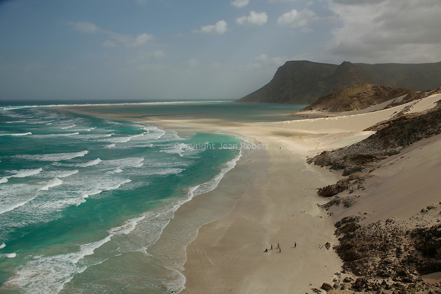 .Qalansiyah lagoon . North east coast. Socotra; Yemen