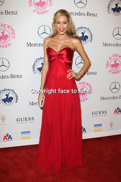 Rebecca Da Costa at the 26th Carousel Of Hope Ball at The Beverly Hilton Hotel on October 20, 2012 in Beverly Hills, California...Credit: MediaPunch/face to face..- Germany, Austria, Switzerland, Eastern Europe, Australia, UK, USA, Taiwan, Singapore, China, Malaysia and Thailand rights only -
