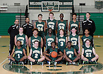 12-7-15, Huron High School boy's JV basketball team
