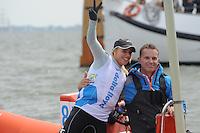 ZEILEN: MEDEMBLIK: 24-05-2014, Delta Lloyd Regatta, Marit Bouwmeester, coach Jaap Zielhuis, ©foto Martin de Jong
