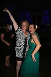 Martha Byrne dances with her sister Liz at the benefit Angels for Hope which benefits St. Jude Children's Research Hospital on May 29, 2009 at the Estate at Florentine Gardens, Rivervale, NJ. (Photo by Sue Coflin/Max Photos)