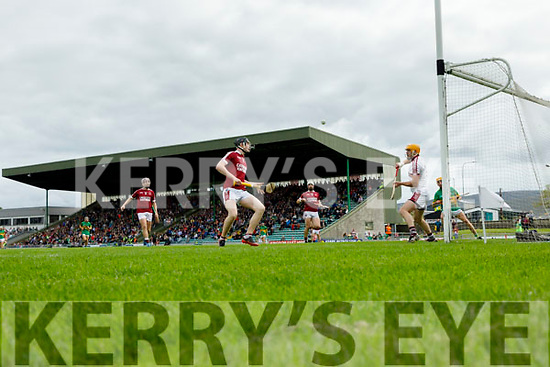 John Mike Dooley Causeway clears his lines during the Kerry County Hurling final between Causeway and Lixnaw at Austin Stack park on Sunday