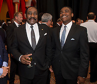 Horace Burrell. US Soccer held their Centennial Gala at the National Building Museum in Washington DC.
