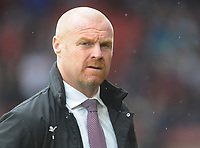 Burnley manager Sean Dyche <br /> <br /> Photographer Kevin Barnes/CameraSport<br /> <br /> The Premier League - Southampton v Burnley - Sunday August 12th 2018 - St Mary's Stadium - Southampton<br /> <br /> World Copyright &copy; 2018 CameraSport. All rights reserved. 43 Linden Ave. Countesthorpe. Leicester. England. LE8 5PG - Tel: +44 (0) 116 277 4147 - admin@camerasport.com - www.camerasport.com
