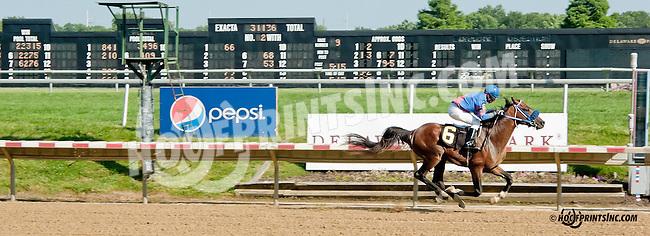 Burning Fleet winning at Delaware Park on 7/15/13